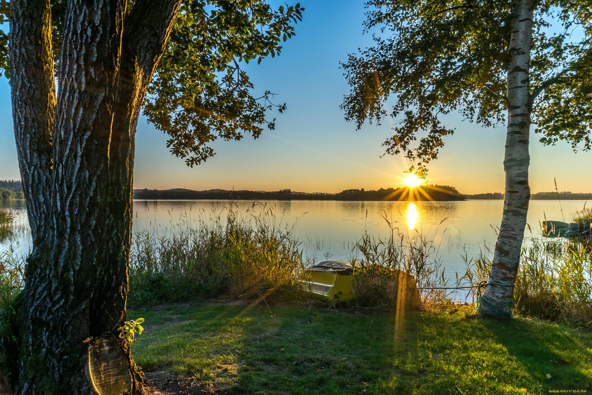 с добрым утром красивые картинки с природой фото том